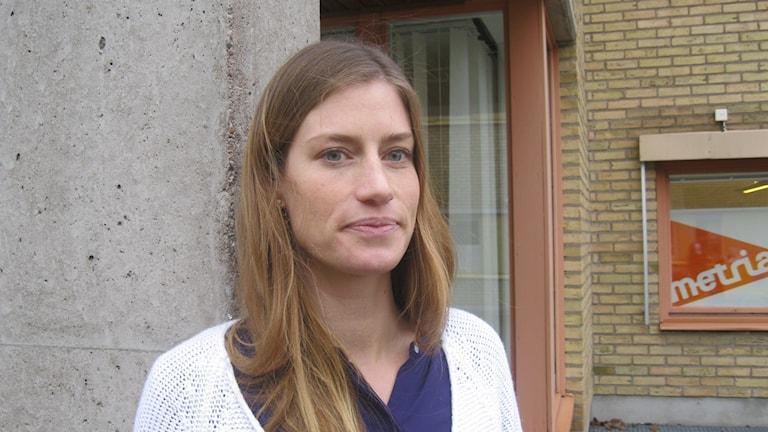 Moa Brändström. Foto: Helena Strömblad/Sveriges Radio