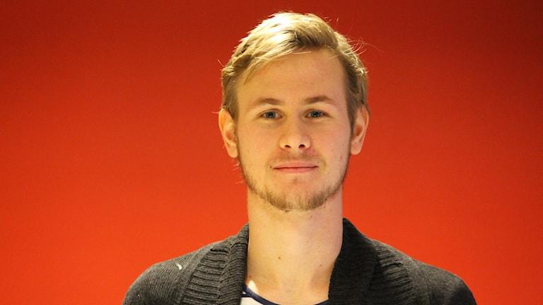 Erik Israelsson. Foto: Nick Näslund/Sveriges Radio