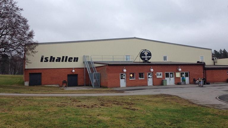 Ishall. Foto: Janne Rindstig/Sveriges Radio