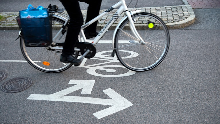 Cyklist. Foto: Fredrik Sandberg/TT