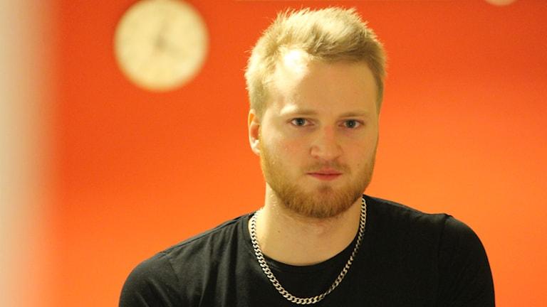 Erik Gunhamn. Foto: Nick Näslund/Sveriges Radio