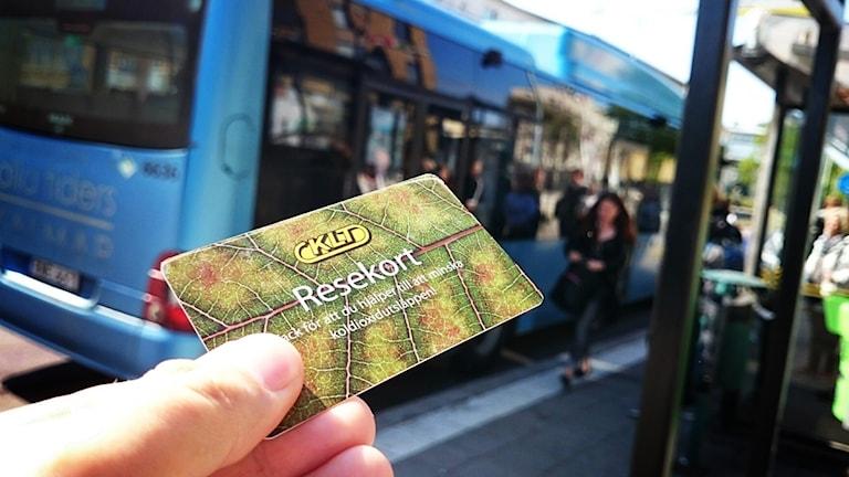 Busskort.