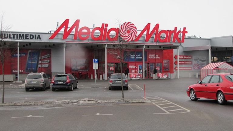 Media Markt. Foto: Maja Edsö/Sveriges Radio
