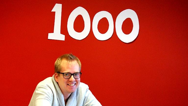 Nick Näslund. Foto: Malin Flodén/Sveriges Radio