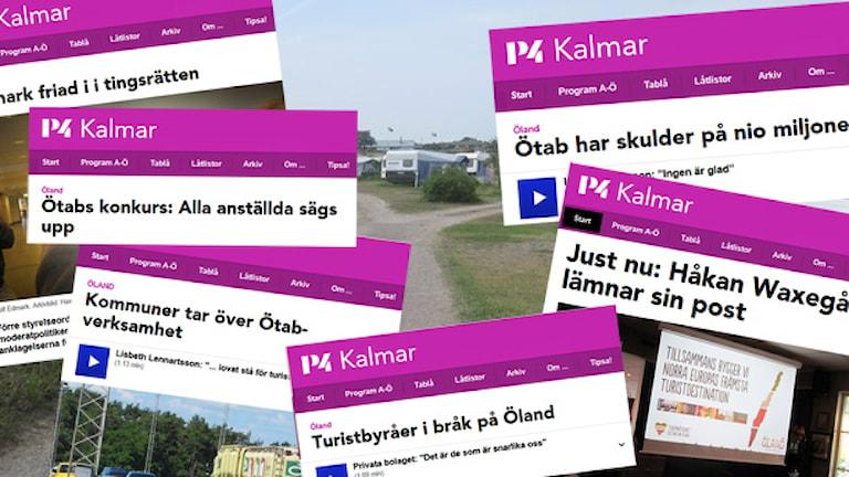 Ölands turismorganisation - detta har hänt. Kollage: Nick Näslund/Sveriges Radio