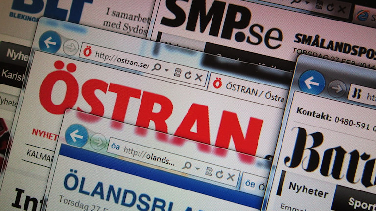Gota medias tidningar på nätet. Foto: Nick Näslund/Sveriges Radio