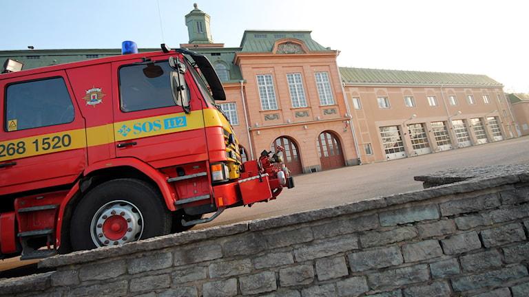 Brandstation. Foto: Nick Näslund/Sveriges Radio