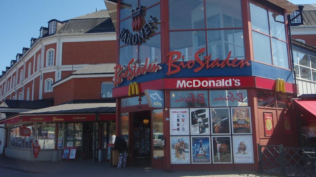 McDonalds vid Baronen i Kalmar Arkivfoto: Simon Leijnse/Sveriges Radio