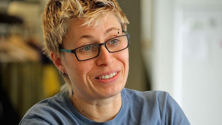 Andréa Berg, akutsjuksköterska.