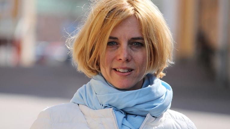 Emma Sandebäck. Foto: Nick Näslund/Sveriges Radio