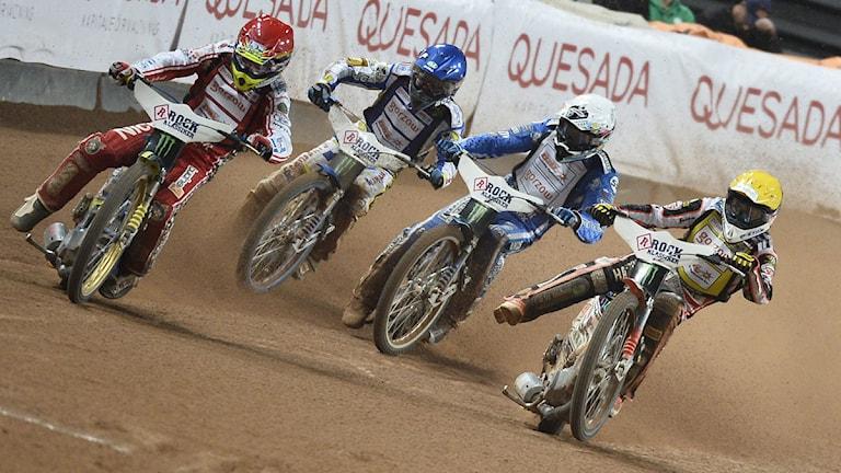 Speedway, VM-tävlingar på Friends Arena i Stockholm.