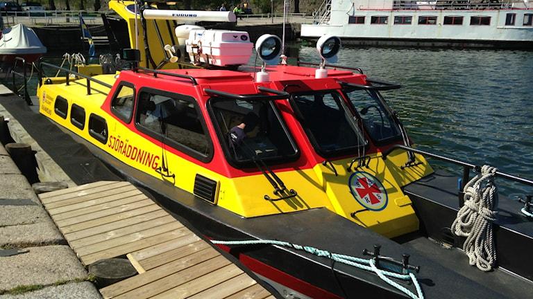 Sjöräddningens båt Kalmarsund