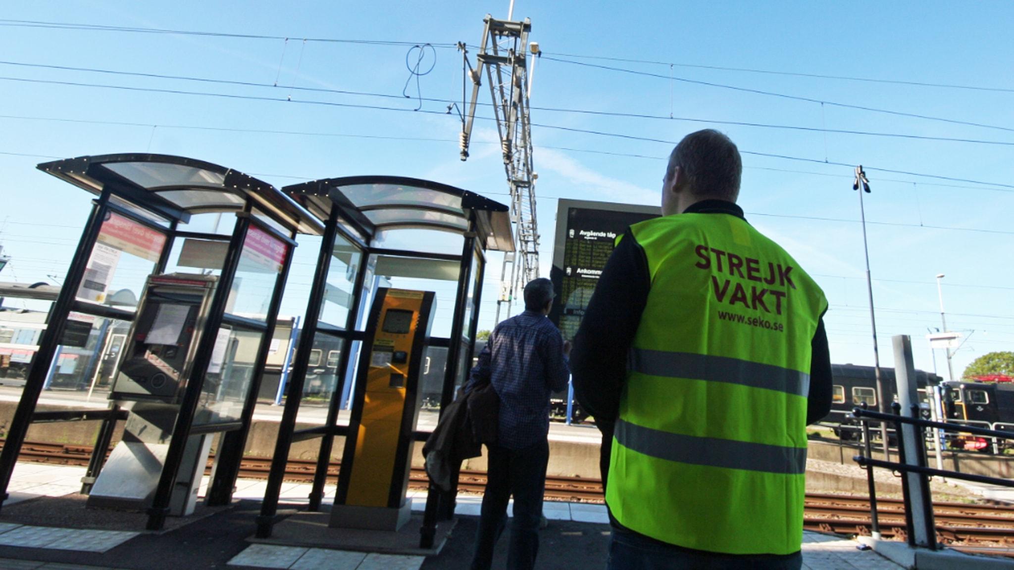 Eisenbahn Streik