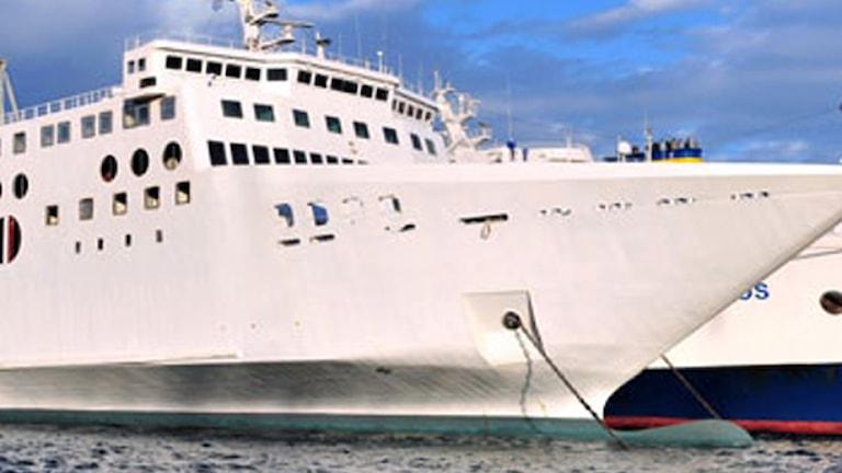 Gotlandsbåten. Foto: Sveriges Radio