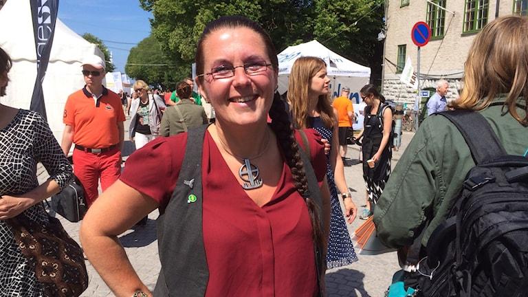 Akko Karlsson. Foto: Tobias Sandblad/Sveriges Radio