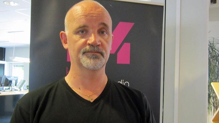 Johnny Lesseur, verksamhetschef på socialförvaltningen. Foto: Nasim Rahsepar/Sveriges Radio