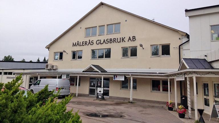 Målerås glasbruk. Foto: Svante Ekberg/Sveriges Radio