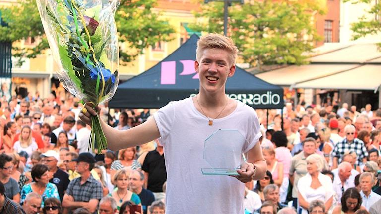 Kalle Johansson. Foto: Linda Olsson/Sveriges Radio