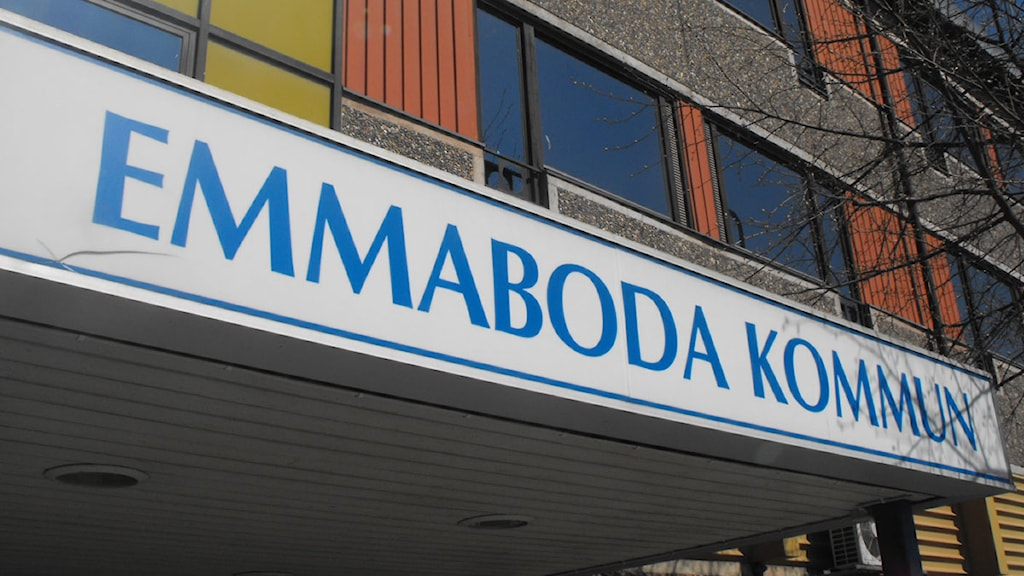 Kommunhuset i Emmaboda. Foto: Nick Näslund/Sveriges Radio