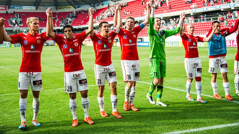 Kalmar FF-spelare. Foto: Patric Söderström/TT