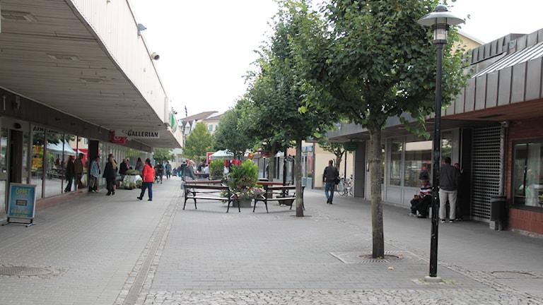 Storgatan i Hultsfred.