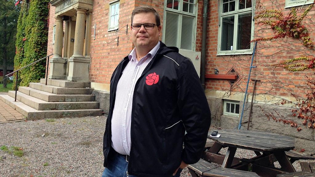 Jonas Erlandsson (S) i Högsby.