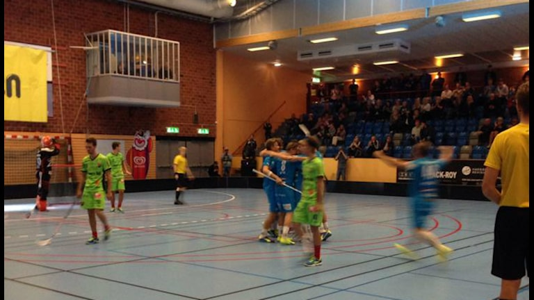 Målfirande i Kalmarsund. Foto: Kajsa Palmqvist