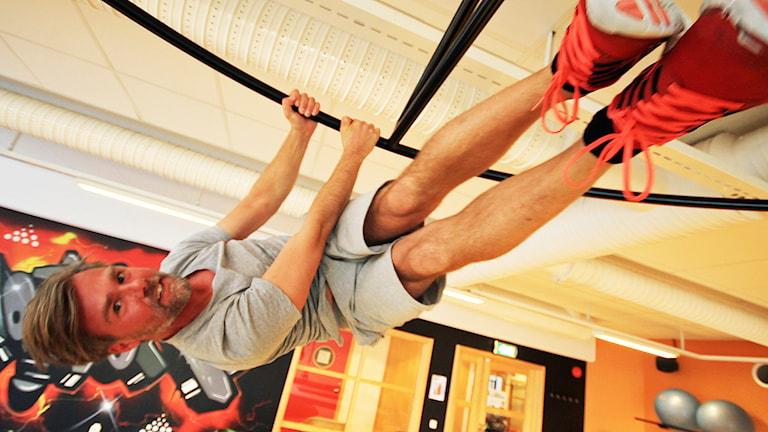 Daniel Strandberg. Foto: Nick Näslund/Sveriges Radio