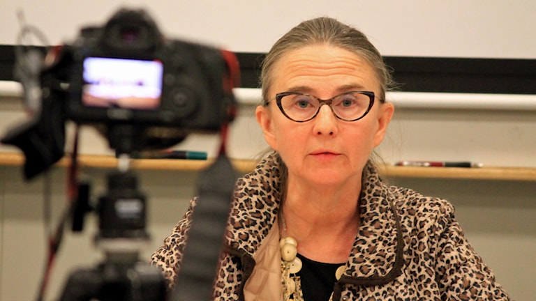 Gunilla Öhlin. Foto: Nick Näslund/Sveriges Radio