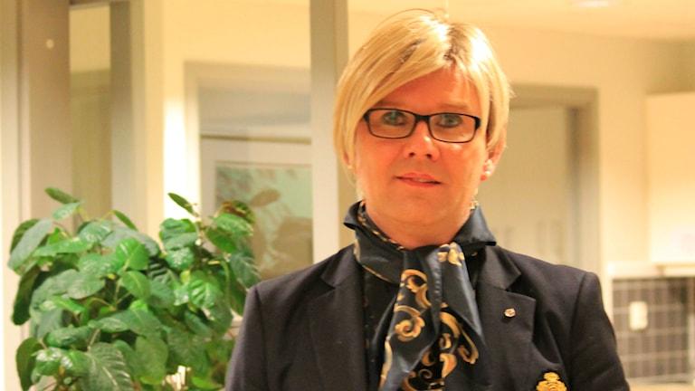 Bikd på Nathalie Åhlund. Foto: Nasim Rahsepar/Sveriges radio