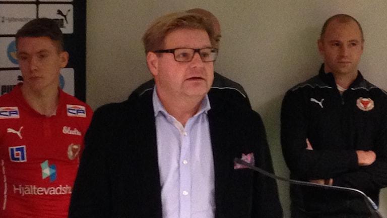 Peter Swärdh. Foto: Magnus Krusell/Sveriges Radio