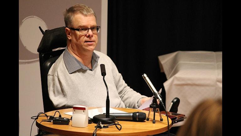 Bert Pettersson. Foto: Tobias Sandblad/Sveriges Radio