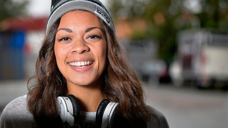 Mollie Lindén. Foto: Anders Wiklund/TT.