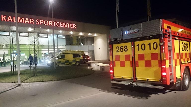 Drunkningstillbud vid Äventyrsbadet i Kalmar. Foto: Nick Näslund/Sveriges Radio