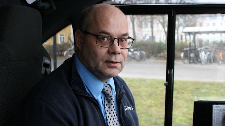 Cornelius van den Bor. Foto: Johanna Lindblad Ahl/Sveriges Radio