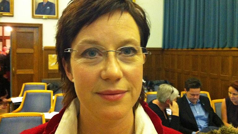 Stihna Johansson Evertsson. Foto: Sofia Valve/Sveriges Radio