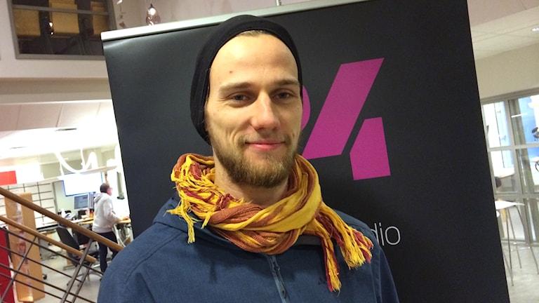 Gerrit Schwere. Foto: Mari Strålman/Sveriges Radio