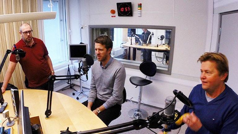 Panelmedlemmar. Foto: Nick Näslund/Sveriges Radio