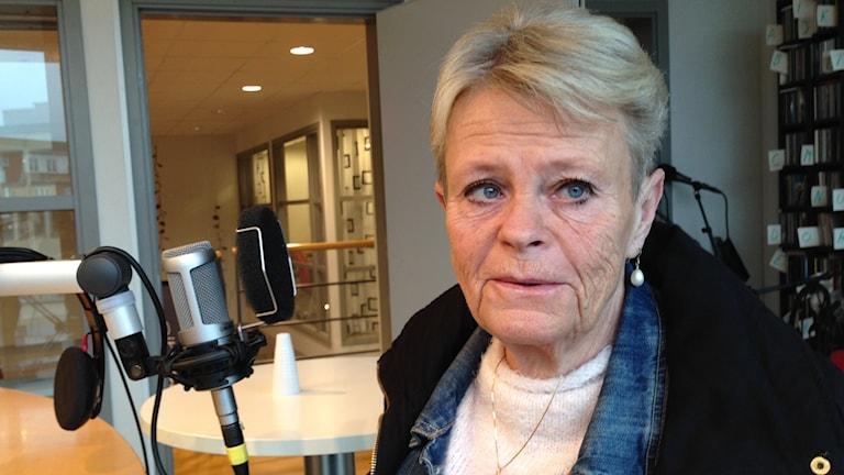 Anita Bäckström. Foto: Maria Skagerlind/Sveriges Radio