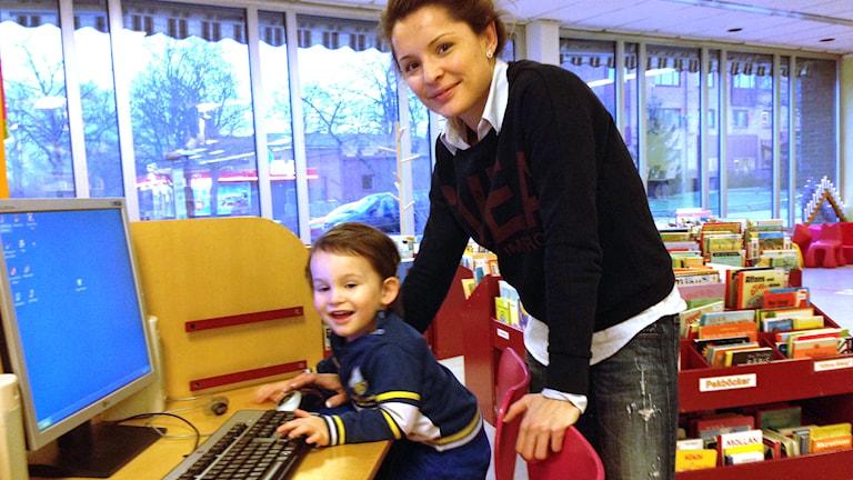 Emin och Sanela Spahic. Foto: Erika Norberg/Sveriges Radio
