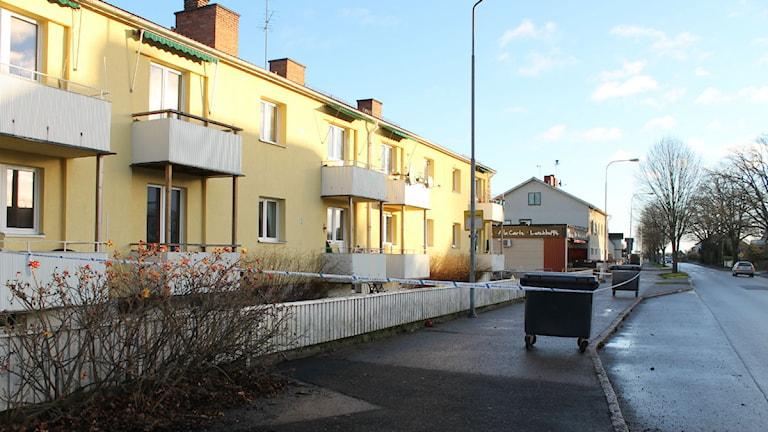 Hus i Västervik. Foto: Johanna Lindblad Ahl/Sveriges Radio