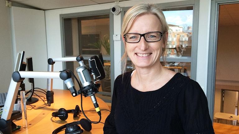 Anette Jonsson. Foto: Niklas Kaldner/Sveriges Radio