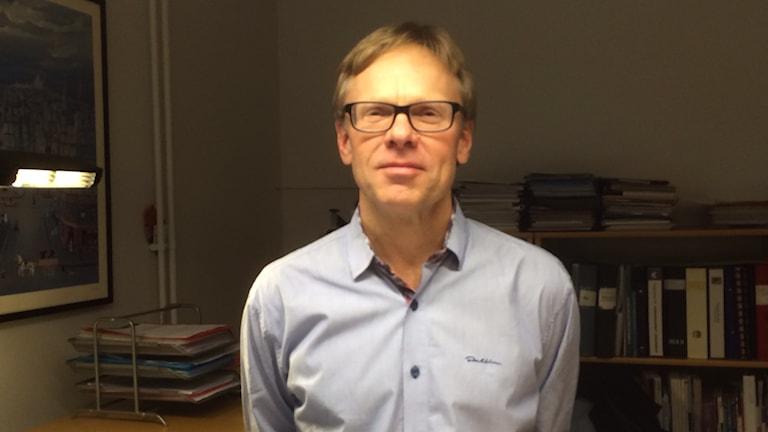 Thomas Tryggvesson. Foto: Tobias Sandblad/Sveriges Radio