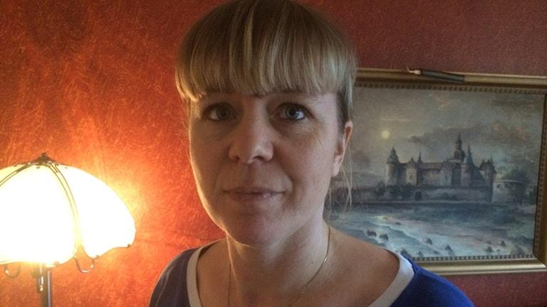 Marie Karlsson. Foto: Tobias Sandblad/Sveriges Radio