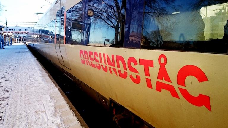 Öresundståg. Foto: Nick Näslund/Sveriges Radio