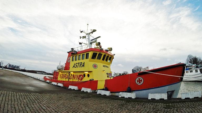 Fartyg från Sjöräddningen.