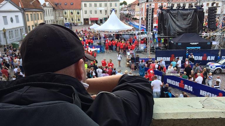 Tobias Borger. Foto: Niklas Kaldner/Sveriges Radio