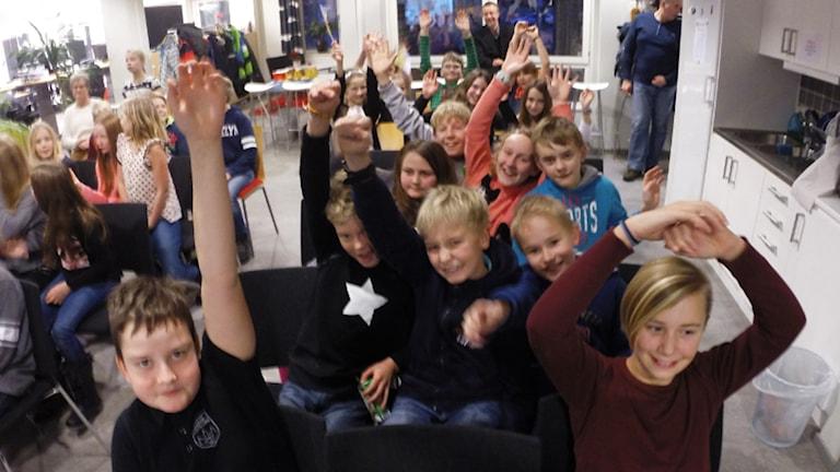 Regnbågens publik. Foto: Nick Näslund/Sveriges Radio