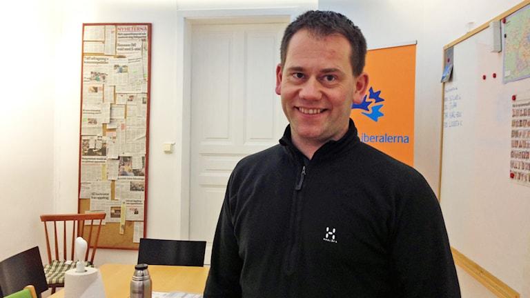 Mathias Karlsson. Foto: Erika Norberg/Sveriges Radio