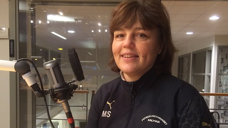 Marie Svensson. Foto: Marcus Léonarde/Sveriges Radio